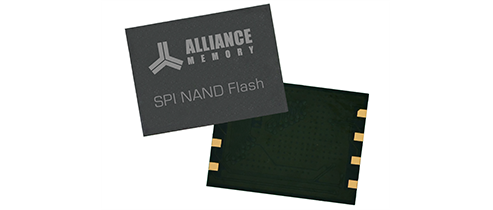 NEW 1.8V and 3V SPI NAND Flash Memory From Alliance Memory – AS5F Series